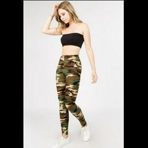 🆕🎄🎅 Soft CAMO Camouflage ONE SIZE leggings 🎅🎄